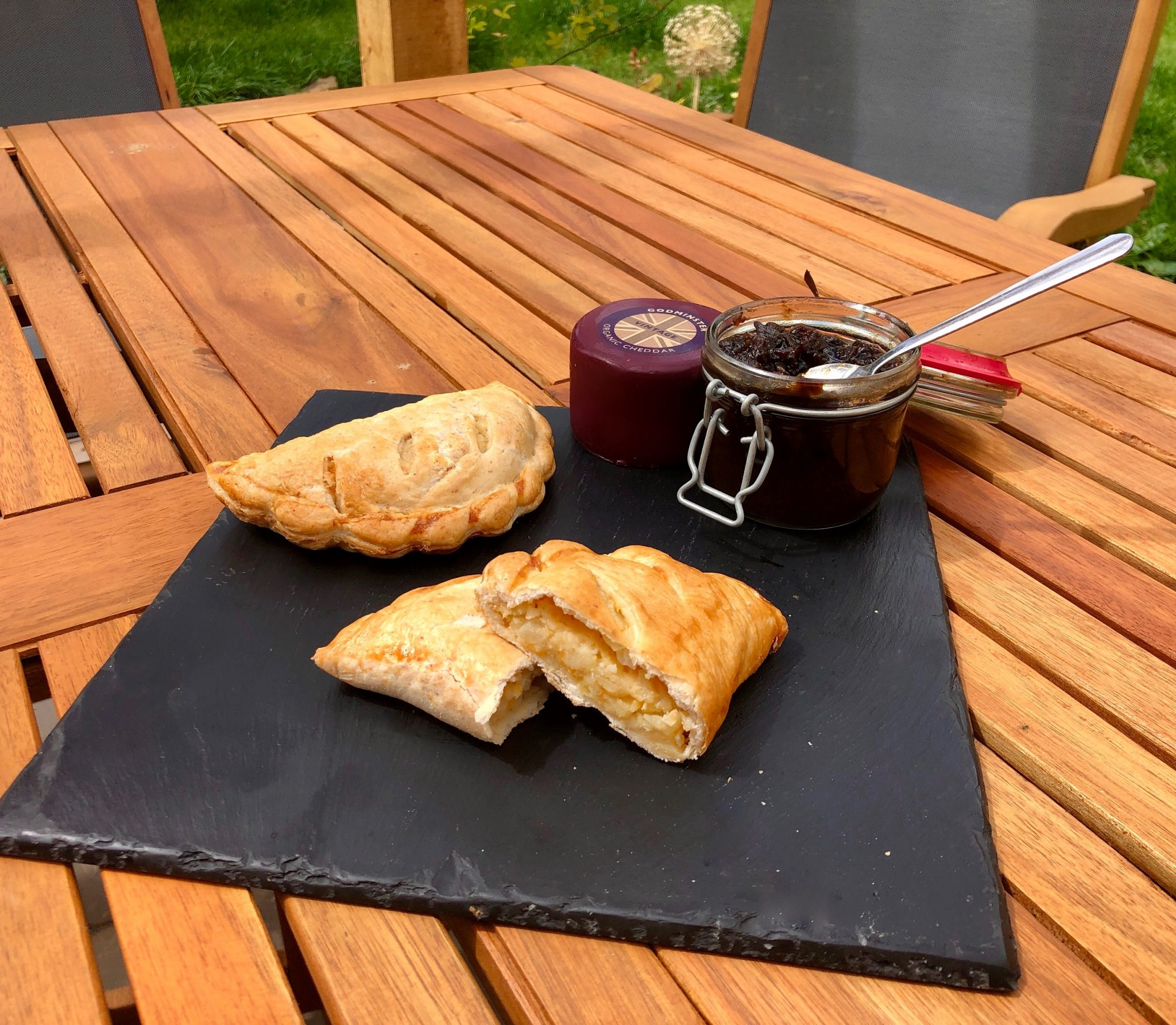 Godminster Cheese, Onion and Potato Pasty