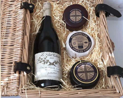 Cheddar and Red Wine Hamper - Trio Edition - web