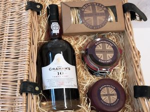 Classic Cheddar and Port Hamper - Signature Edition