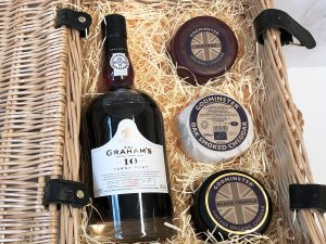 Classic Cheddar and Port Hamper - Trio Edition