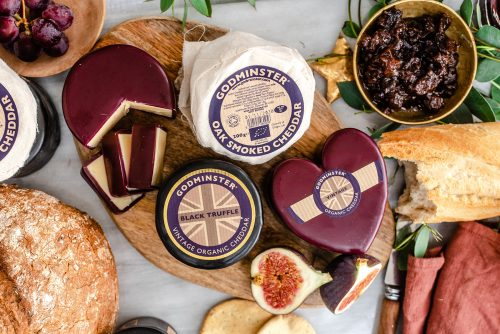 Organic Cheese by Godminster