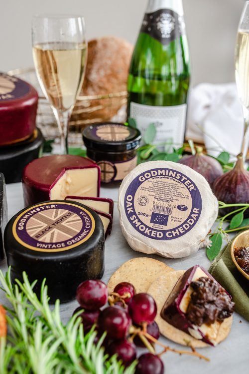 Godminster Fizz and Cheese Hamper Gift Set