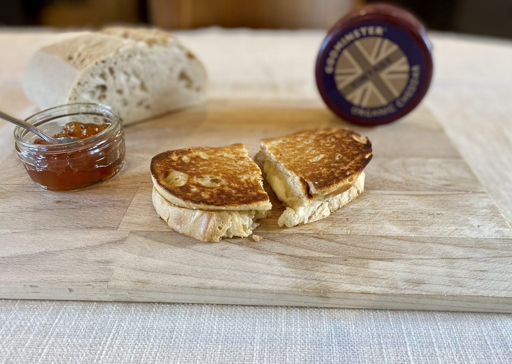 Three Cheese Sourdough Toastie