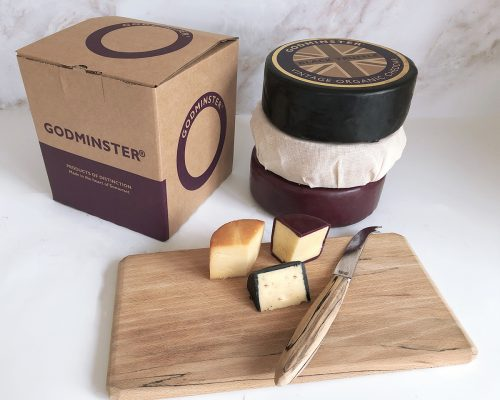 Ultimate Triple Cheddar Collection cheese board