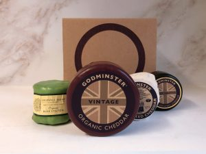 Godminster Christmas Cheese Feast Box - Round