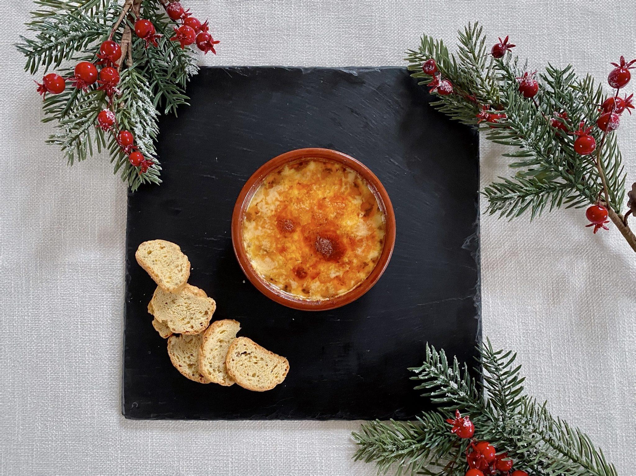 Vintage Organic Cheddar, Mozzarell and Chilli Bake