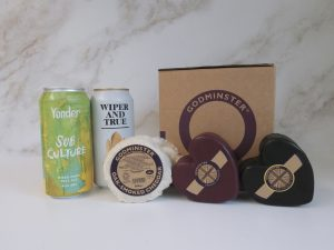 Cheddar and Craft Beer Gift Set - Double Heart
