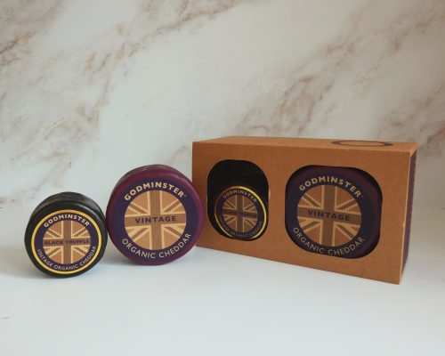 Cheddar and Black Truffle Combo ROUND