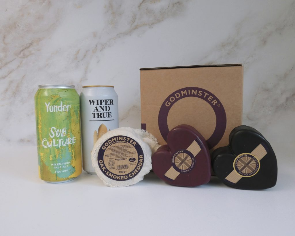 Cheddar and Craft Beer Gift Set - Double Heart v2