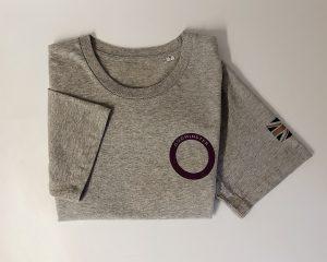 Godminster T Shirt flat lay
