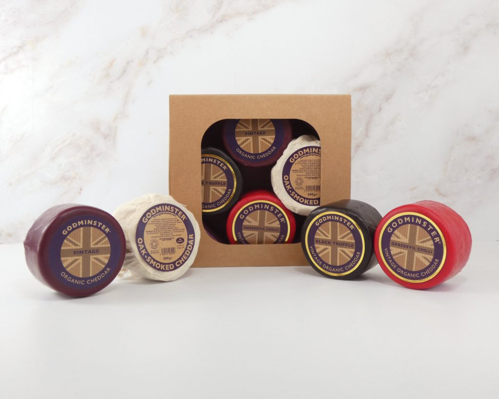 Four Cheese Selection Box - Round